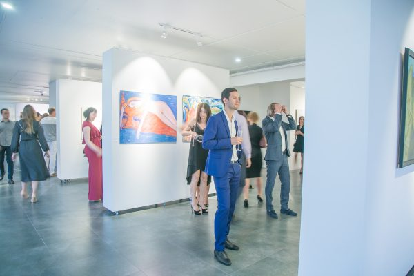 Открытие художественной галереи                                                       «Год живописи»
