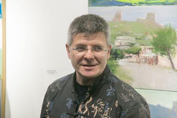 Открытие персональной выставки Сергея Форостовского