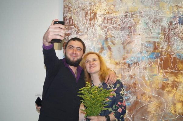 Открытие выставки Юлии Ивановой