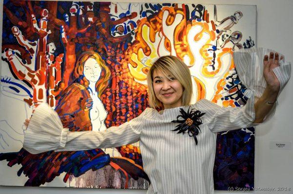 Открытие выставки Анны Осиповой