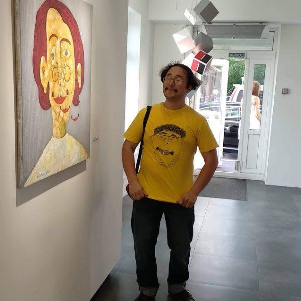 Открытие выставки Александра Сурикова