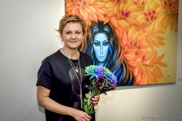 Открытие выставки Виктории Исаенковой